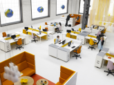 Przykład nowoczesnego biura